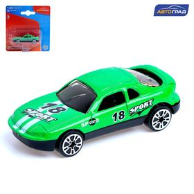 Машина металлическая Racer, масштаб 1:64, МИКС