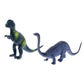 Набор динозавров «Юрский период», 2 штуки, МИКС
