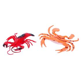 Набор морских животных «Крабс и Зойдберг»