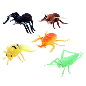 Набор насекомых «Лесные», 5 штук