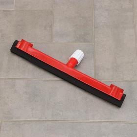 Сгон для пола с держателем для тряпки, крепление клипса, 40 см, цвет МИКС Ош