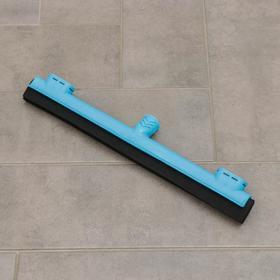 Сгон для пола с держателем для тряпки, крепление еврорезьба, 42 см, цвет МИКС Ош