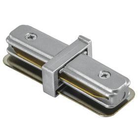 Соединитель 1-фазный (прямой) Barra, цвет серый