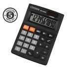 Калькулятор настольный 10-разрядный SDC-022S, 87*120*22мм, двойное питание, черный