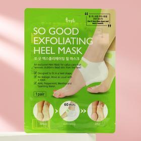 Пилинг-маска для пяток Prreti Exfoliating Heel Mask, 1 пара