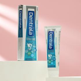 Зубная паста Dentrala total care greenmin прохладная мята, 120 г