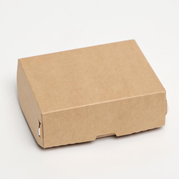 Кондитерская упаковка, 10 х 8 х 3,5 см