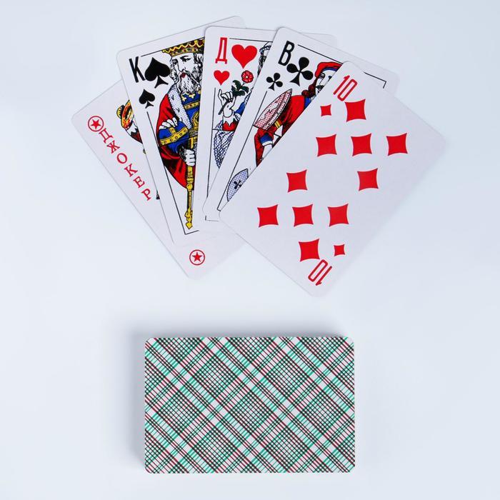 Карты игральные бумажные Король, 54 шт., 8.85.7 см