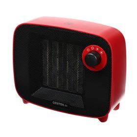 Тепловентилятор Centek CT-6022, керамический, 1500 Вт, 15 м2, красный Ош