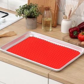 Силиконовый коврик антипригарный, 39×27 см