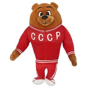 Игрушка мягкая «Медведь спортсмен», 32 см