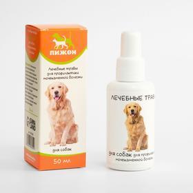 Лечебные травы 'Пижон' для собак с мочекаменной болезнью, 50 мл Ош