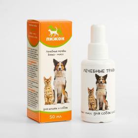 Лечебные травы 'Пижон' для собак и кошек, вязка-минус, 50 мл Ош