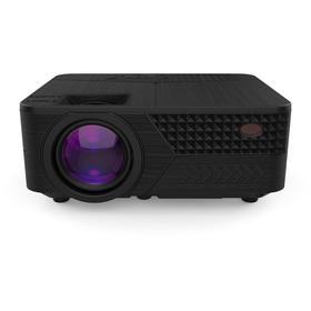 Проектор Hiper Cinema D2, 3700лм, 1280x720, 2000:1, ресурс лампы:50000часов, USB, HDMI,чёр.   740631 Ош