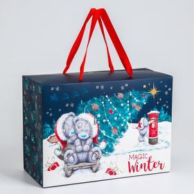 "Пакет-коробка подарочная ""Magic winter"", Me To You"