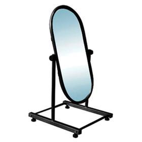 Зеркало для примерки обуви 385*410*720, цвет чёрный Ош