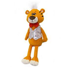 Мягкая игрушка «Тигр Оскар в жилетке», 30 см