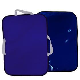 Ледянка мягкая, 56х42 см, цвет темно-синий