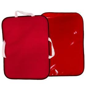 Ледянка мягкая, 56х42 см, цвет красный