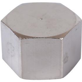 """Заглушка STOUT SFT-0027-000014, 1/4"""", внутренняя резьба, никелированная"""