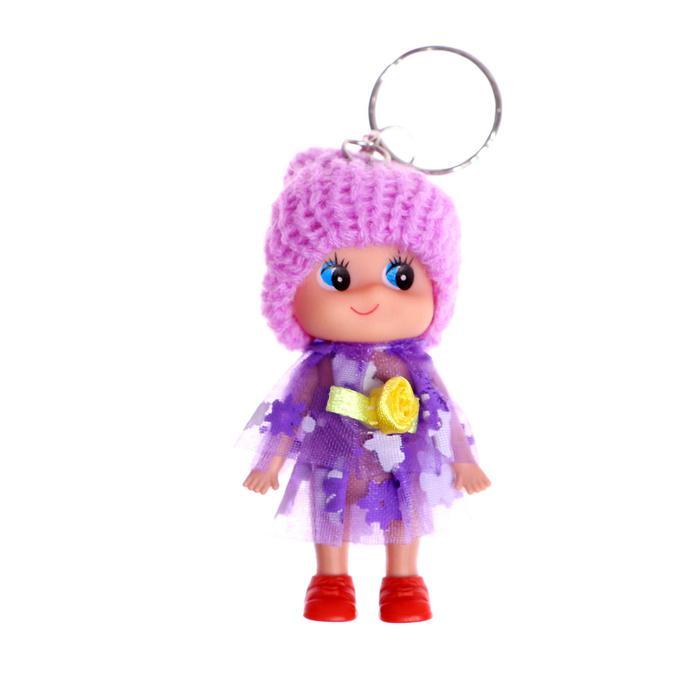 Кукла Оля на брелоке
