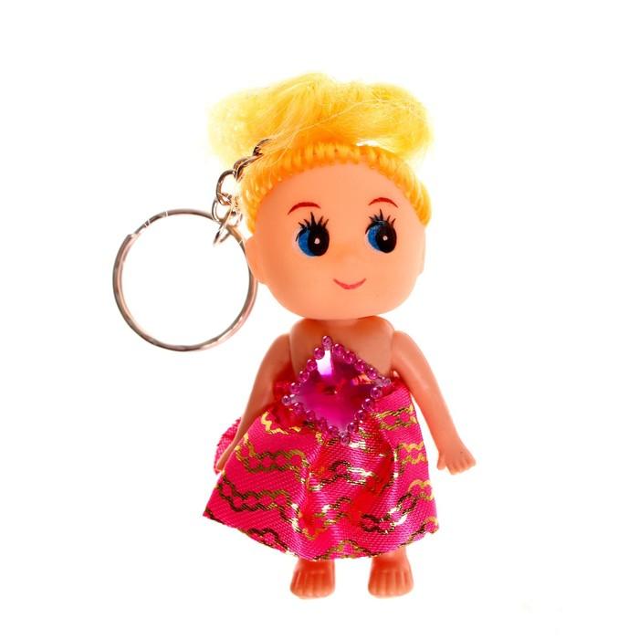 Кукла Лена на брелоке