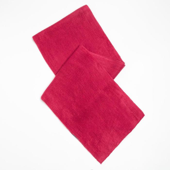 Шарф трикотажный V2727_B17 цвет малиновый, р-р 23160
