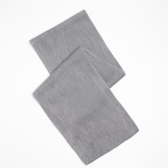 Шарф трикотажный V2727_B93 цвет серый, р-р 23160