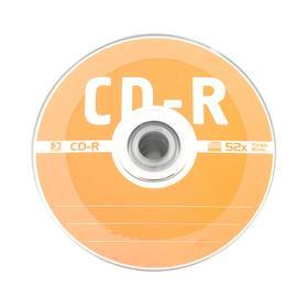 Диск CD-R Data Standard, 52x, 700 Мб, шт Ош