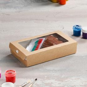 Набор для творчества с массой для лепки, стеки, красная глина 0.5 кг Ош