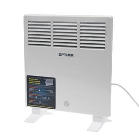 Обогреватель OPTIMA CH-1073, конвекторный, настенный, 1000 Вт, контроль температуры, белый