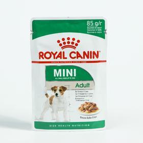 Влажный корм RC Mini Adult для собак мелких пород, в соусе, 85 г
