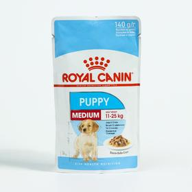 Влажный корм RC Medium Puppy для щенков средних пород, в соусе, 140 г