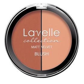 Румяна компактные 2-цветные LavelleCollection тон 03 персик