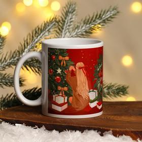 Кружка с сублимацией «Рождественская сказка», 300 мл