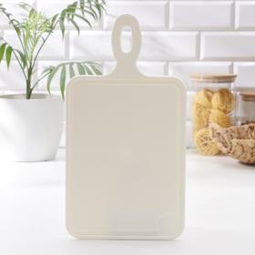Доска разделочная №1, 35×19×0,7 см, цвет ваниль
