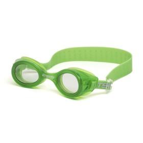 Очки для плавания Atemi N7303, детские, силикон, цвет салатовый Ош