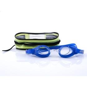 Очки для плавания Atemi S103, детские, PVC/силикон, цвет синий Ош