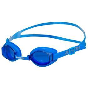 Очки для плавания Atemi S203, детские, PVC/силикон, цвет голубой Ош