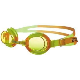 Очки для плавания Atemi S305, детские, PVC/силикон, цвет жёлтый, оранжевый Ош