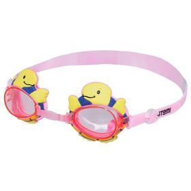Очки для плавания Novus NJG-107, детские, цвет розовый «черепаха» Ош