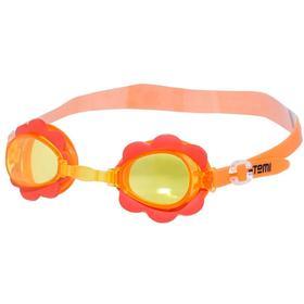 Очки для плавания Novus NJG-109, детские, цвет розовый «цветок» Ош