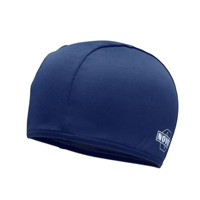 Шапочка для плавания NOVUS NPC-10, полиэстер, тёмно синяя