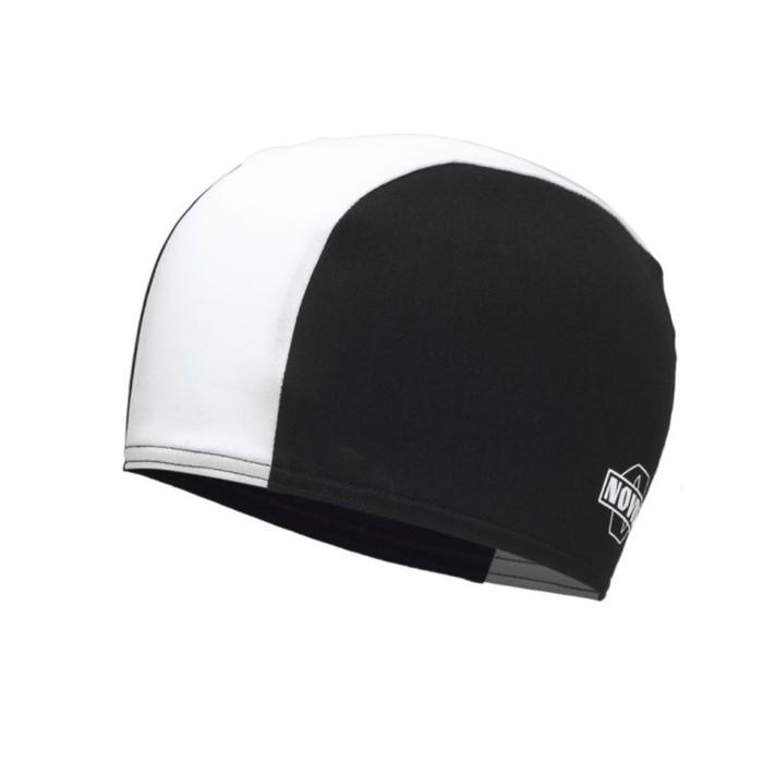 Шапочка для плавания NOVUS NPC-21, полиэстер, чёрно белая