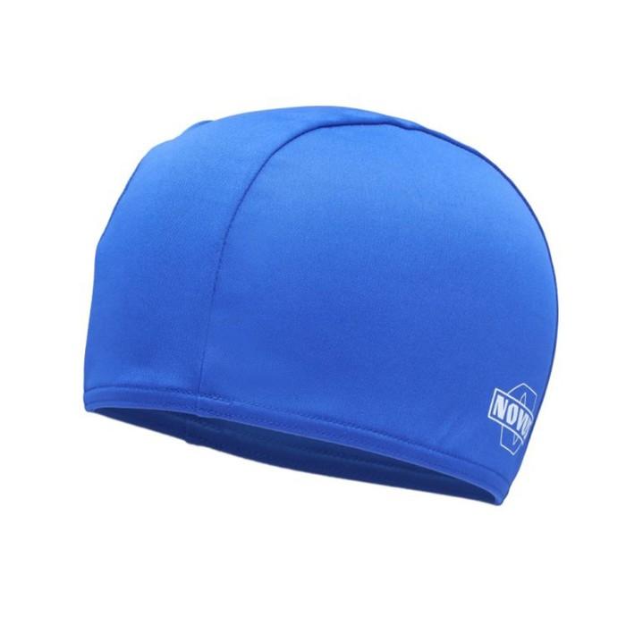 Шапочка для плавания NOVUS NPC-30, полиэстер, синяя