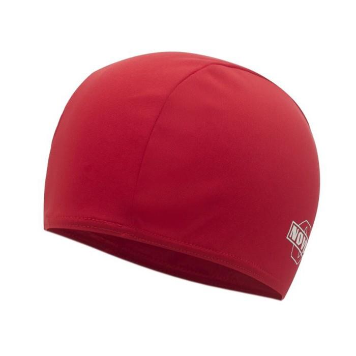 Шапочка для плавания NOVUS NPC-40, полиэстер, красная