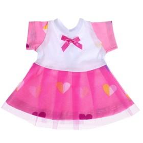 Одежда для кукол «Платье с повязкой»