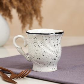 """Чашка """"Орфей"""", прованс, белая, 0.2 л"""