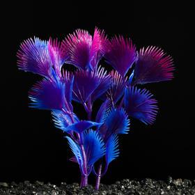 Растение искусственное аквариумное, 3 х 9 см Ош