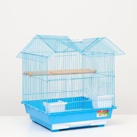 Клетка для птиц 'Алиса', укомплектованная, 40 х 40 х 49 см, микс цветов Ош